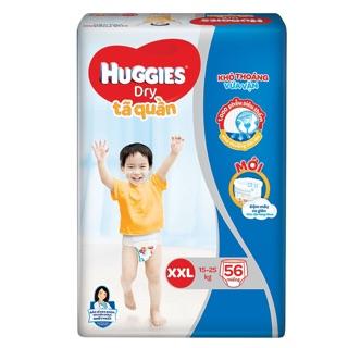 Tã quần Huggies Dry gói cực đại L68 / XL62 / XXL56 đệm mây mới