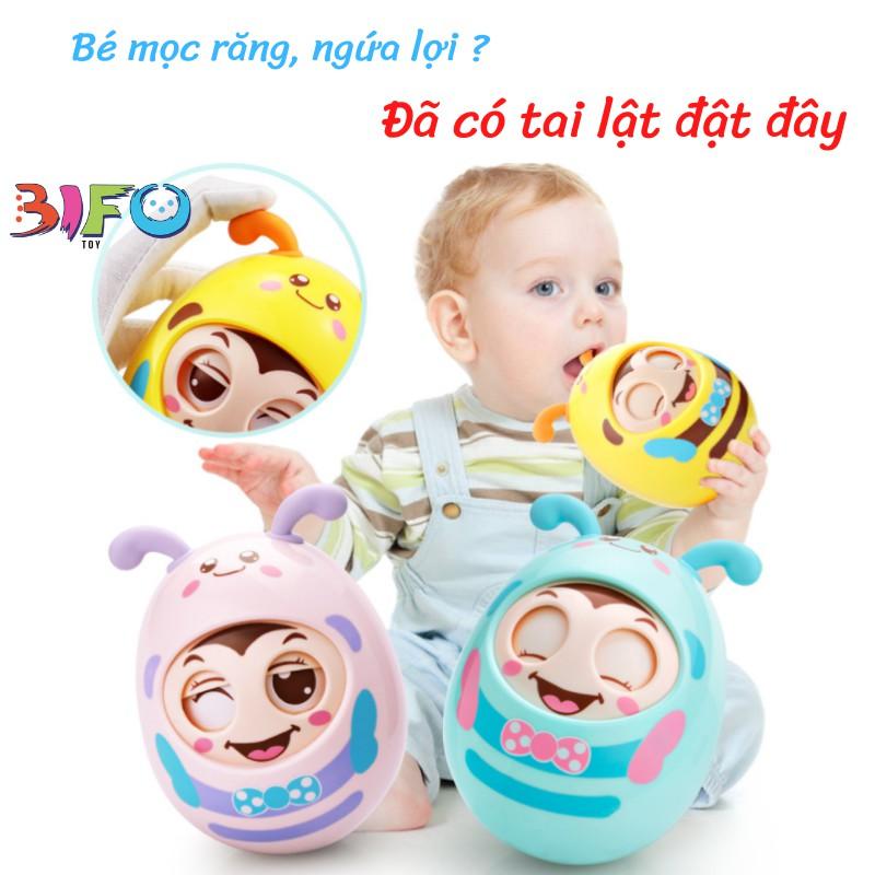 Lật đật mắt cười dễ thương có âm thanh vui nhộn cho bé phát triển đầu đời