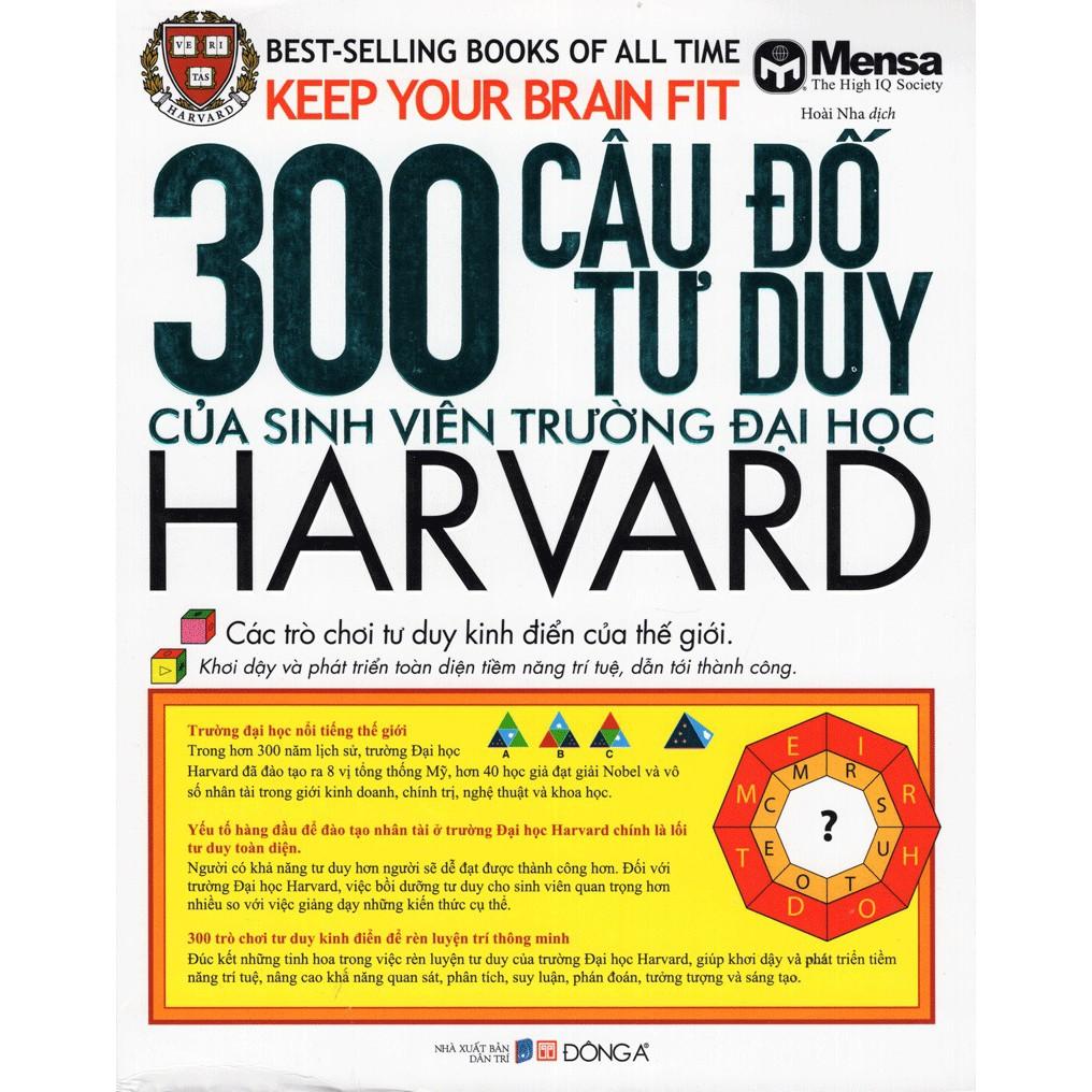Sách: 300 Câu Đố Tư Duy Của Sinh Viên Trường Đại Học Harvard - 3605804 , 1182265247 , 322_1182265247 , 108000 , Sach-300-Cau-Do-Tu-Duy-Cua-Sinh-Vien-Truong-Dai-Hoc-Harvard-322_1182265247 , shopee.vn , Sách: 300 Câu Đố Tư Duy Của Sinh Viên Trường Đại Học Harvard