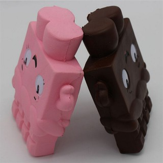 Cartoon Chocolate Girl Squishy Soft Fun Toy Slow Rising Collect Gift Pop