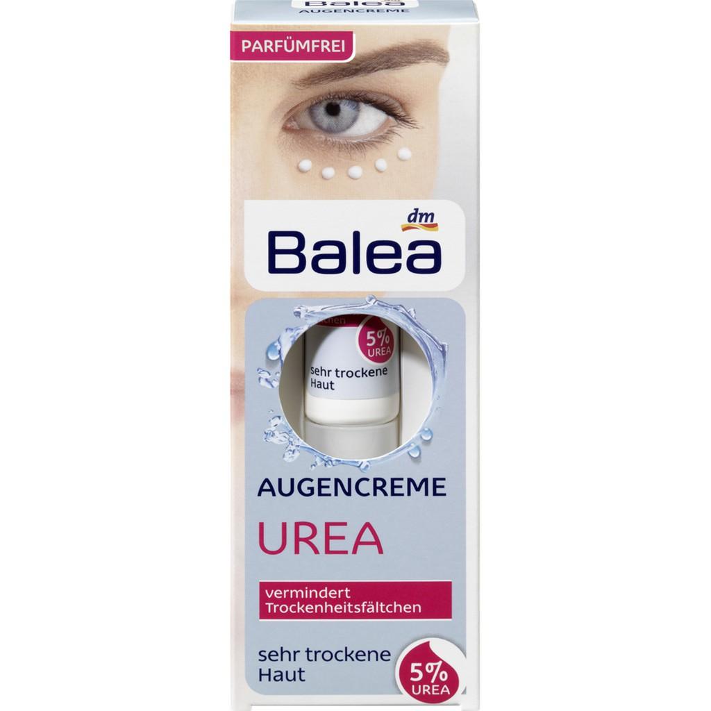 Kem dưỡng ẩm vùng mắt Balea Urea xách tay Đức