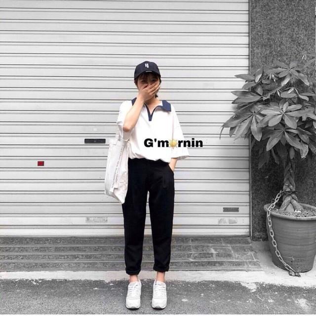 [MY] Quần Baggy Vải Công Sở Đẹp Lưng Thun Suông Xắn Ống XỊN SÒ [MY] | BigBuy360
