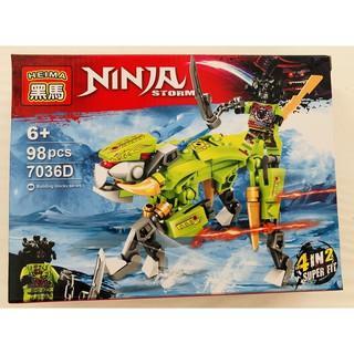 lego mini ninja cưỡi rồng (4 mẫu)