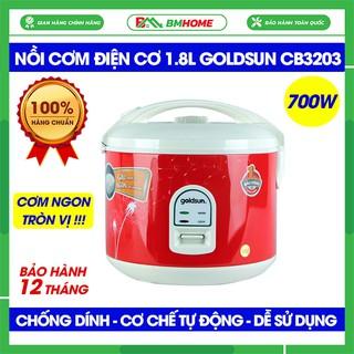 Nồi cơm điện Goldsun CB3203, Nồi cơm điện Goldsun 1,8 lít siêu bền, nấu cơm ngon, chín đều - Bảo hành 12 tháng