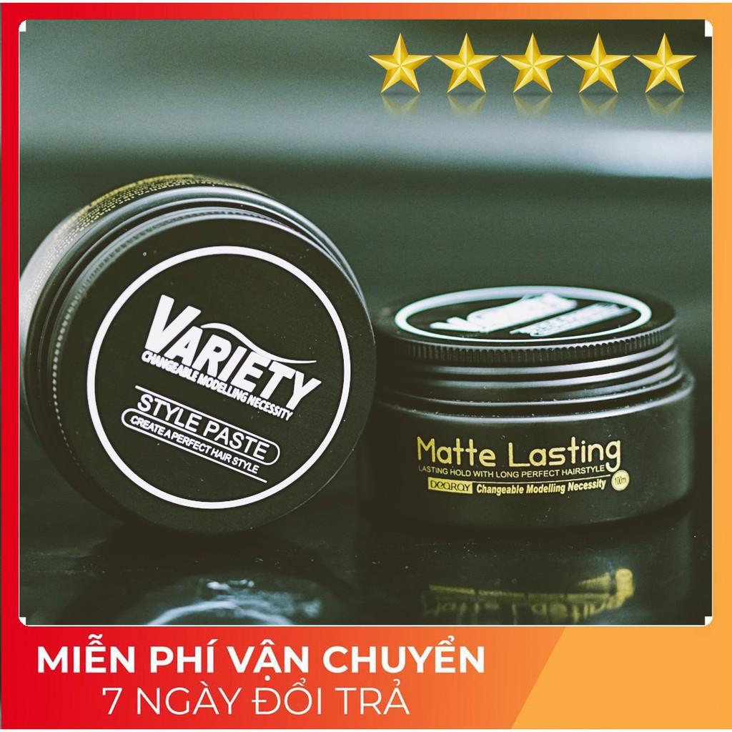 SÁP VUỐT TÓC NAM Variety CHÍNH HÃNG 80g  / sap vuot toc / keo vuốt tóc / wax vuốt tóc / wax / sap toc