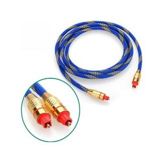 Dây cáp âm thanh quang Optical audio bọc sợi chất lượng cao dài 2m - Toslink nhiều màu  -dc1002