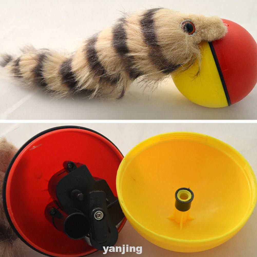 1 X Rolling Ball Toy Funny Dog Cat High Quality Durable Weasel Plastic New