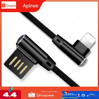 90 Degree Elbow Data Cable Micro USB Type C Cable For iPhone iPad Charging Cable Samsung USB C Mobile Phone Charger Cord Data