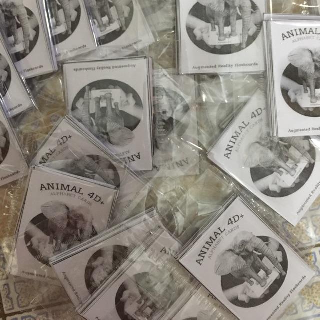 COMBO 10 bộ ảnh thẻ động vật animal 4D