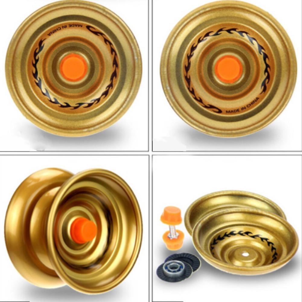 Yo-yo Professional Ball Bearing Alloy Yoyo Tricks Kids Gift