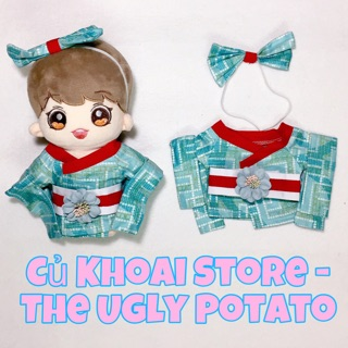 Kimono cho Doll – Set quần áo/ outfit cho doll 20cm