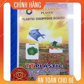 Thớt Nhựa Vuông (Chặt Được) Việt Nhật giá rẻ. Bền đẹp tiện dụng.