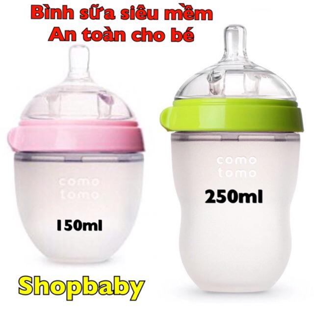 Bình uống sữa siêu mềm 150ml và