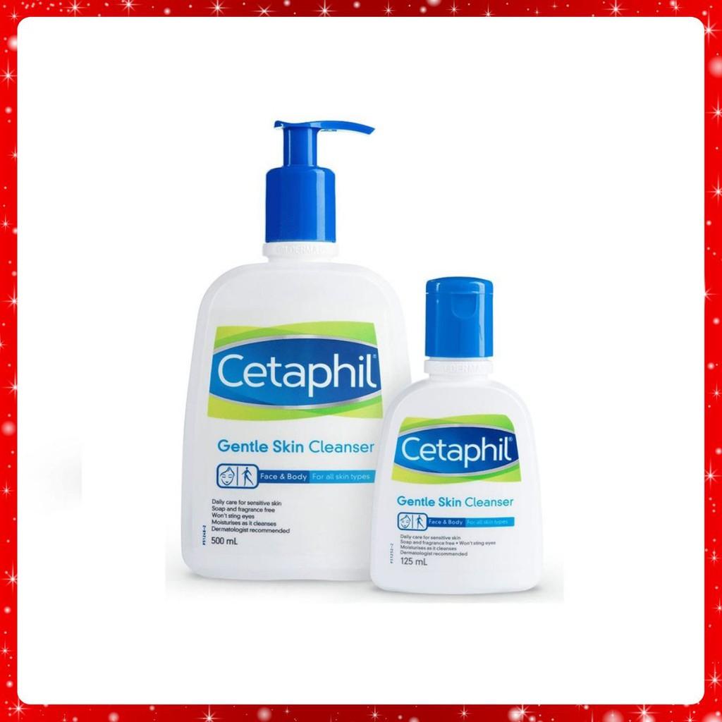 Sữa rửa mặt Cetaphil cho da nhạy cảm 50ml - 500ml - Centaphil