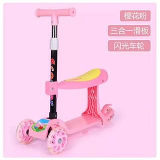 Xe Trượt Scooter 3in1 cho bé trai, bé gái có ghế ngồi, 3 bánh xe – Dochoicuatoi