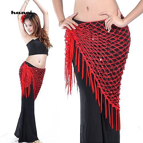 Trang phục múa bụng trên rốn dành cho nhảy Belly Dance
