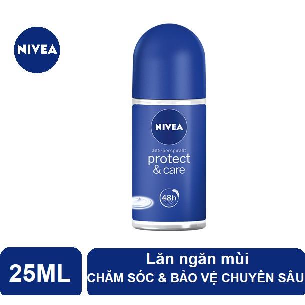Lăn ngăn mùi Nivea chăm sóc và bảo vệ chuyên sâu, dịu nhẹ (25ml) - 85907