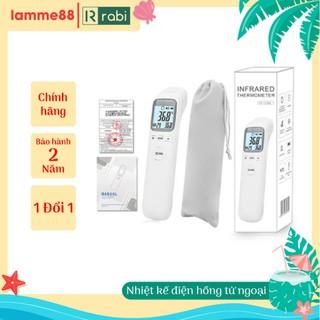 Nhiệt kế điện tử hồng ngoại mẫu mới, nhiệt kế đo trán, thiết bị y tế chăm sóc trẻ em chính hãng kèm pin BH 2 năm thumbnail