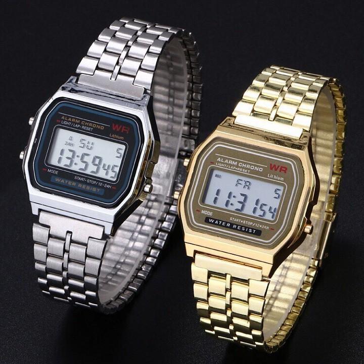 Đồng hồ đeo tay Dotime nam nữ WR unisex dây hơp kim cao cấp ZO51