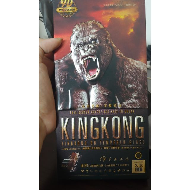 Siêu kính cường lực 9D King Kong full màn hình - cho các dòng máy IPHONE 7/7Plus, 8/8Plus, X/Xs, XR