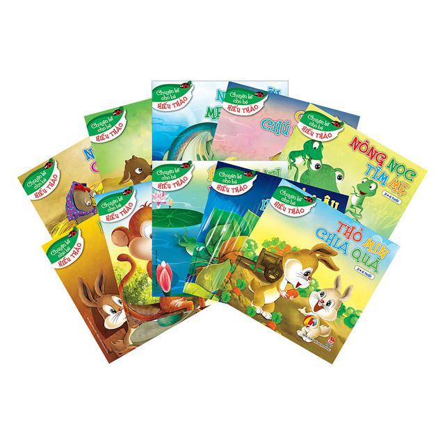 Sách - Chuyện kể cho bé hiếu thảo - bộ 10 cuốn - NXB Kim Đồng