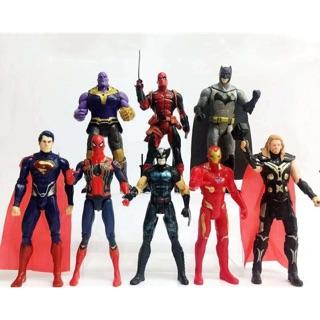 Bộ 8 siêu anh hùng avengers