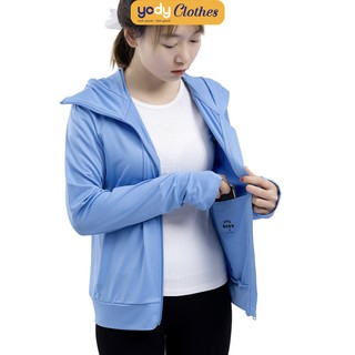 Áo chống nắng nữ YODY công nghệ UV cut thoáng mát mềm mại ACN4002 thumbnail