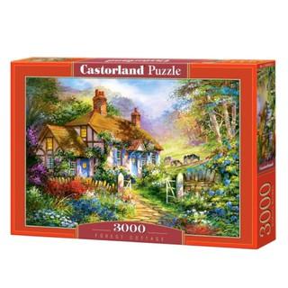 C300402 Xếp hình Forest Cottage 3000 mảnh CASTORLAND