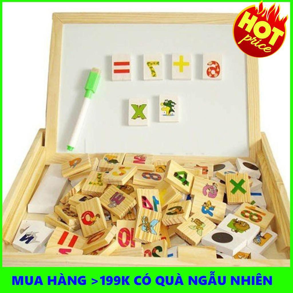 [HÀ NỘI] Bảng gỗ 2 mặt dạy bé học toán
