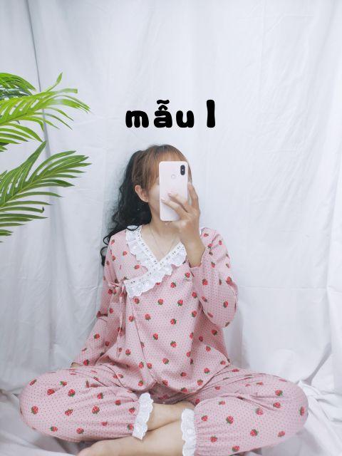 [Mã WASEPRN hoàn 20% xu đơn 99k] 🎀Bộ pijama cột dây kate lụa🎀