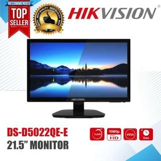 Màn hình Hikvision 21,5 INCH DS-D5022QE-B - và Hikvision 19 INCH DS-D5019QE-B Led Full HD 1080P, Hỗ trợ 2 cổng HDMI thumbnail