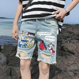 Quần short demin kiểu Hàn Quốc thích hợp cho mùa hè