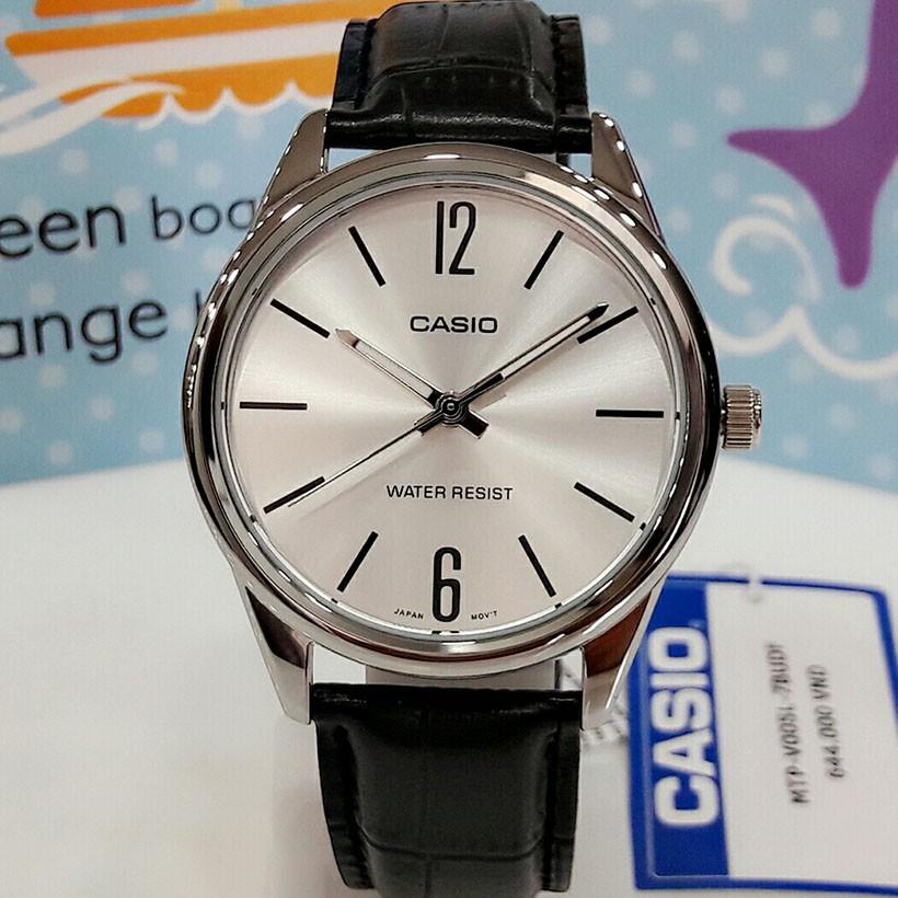 Đồng hồ nam Casio chính hãng Anh Khuê MTP-V005 (40mm)