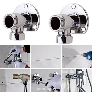 2pcs Home Copper Easy Install Bathroom Supplies Thermostatic Exposed Pipes Elbows Shower Valve