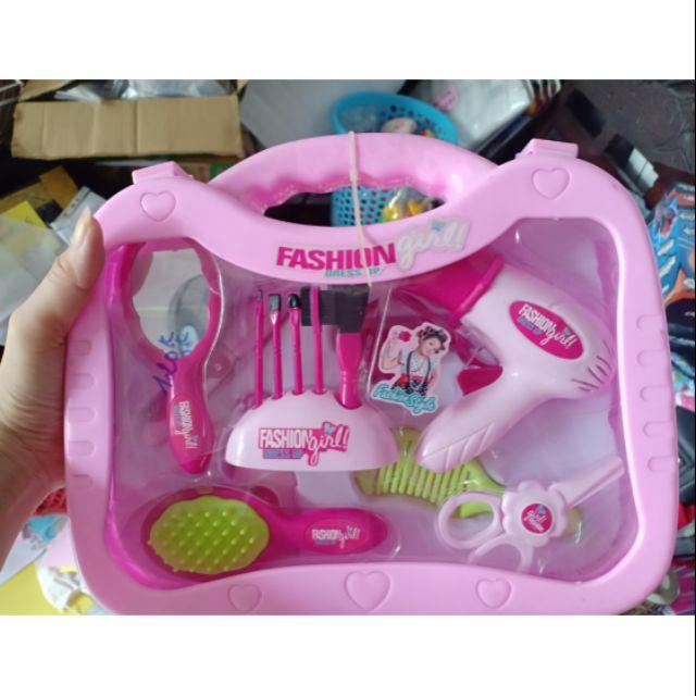 Vali dụng cụ makeup đồ chơi cho bé