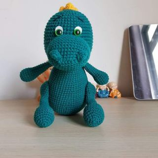 Khủng long xanh( handmade)