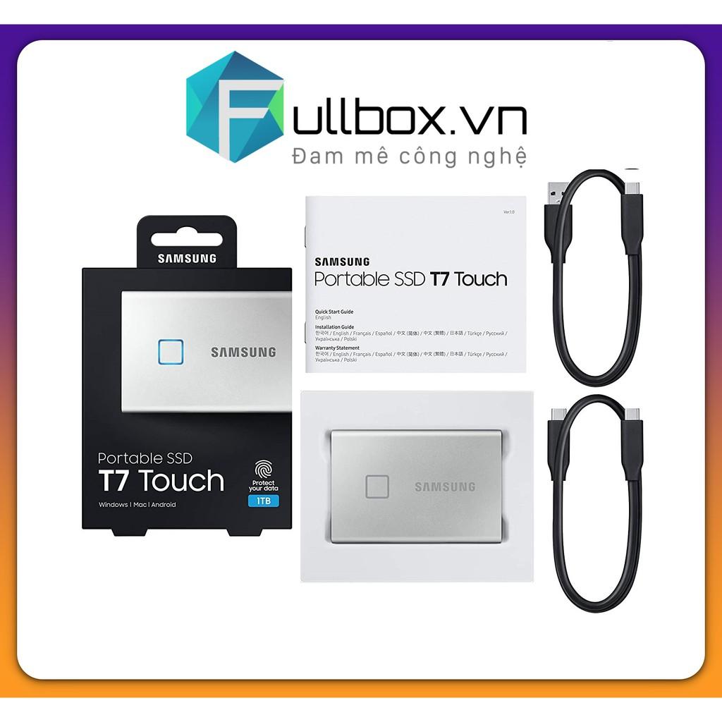 Ổ cứng di động SSD Portable Samsung T7 Touch 500GB - USB 3.2 Gen 2