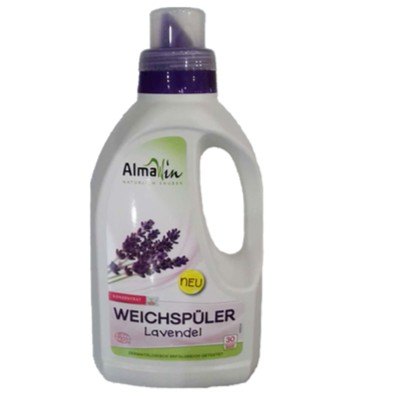 Nước xả vải hữu cơ hương lavender Almawin 750ml