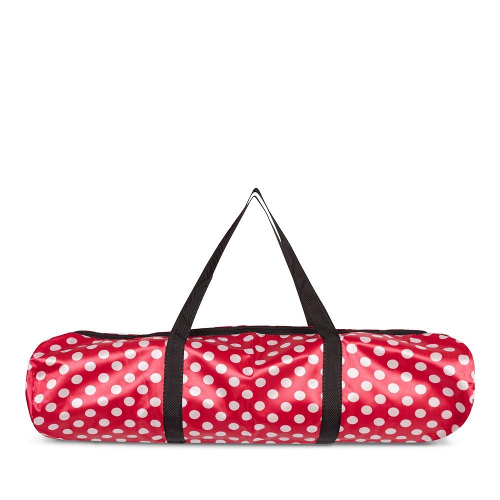 Túi đựng cho thảm yoga từ 8mm (Chấm bi đỏ)