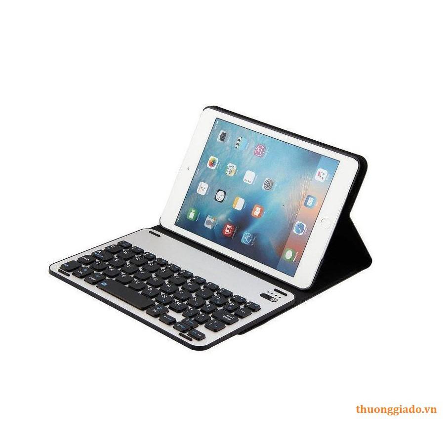 Bàn da kèm phím bluetooth cho iPad mini 1, mini 2, mini 3 Smart Keyboard Case (FT - 1008)