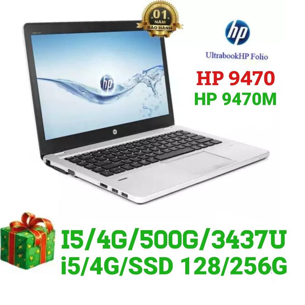 Laptop HP 9470M Core I5 - SSD 120G SIỂU TỐC- Ram 4G - SIÊU MỎNG, SIÊU SANG