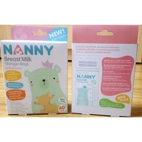 Túi trữ sữa Nanny thái lan - 3077955 , 741158377 , 322_741158377 , 120000 , Tui-tru-sua-Nanny-thai-lan-322_741158377 , shopee.vn , Túi trữ sữa Nanny thái lan