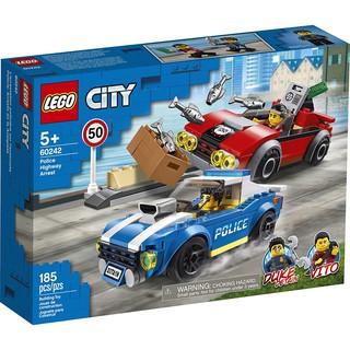LEGO CITY 60242 Truy Đuổi Trên Cao Tốc ( 185 Chi tiết) thumbnail