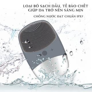 Máy rửa mặt, tạo bọt đánh bay tế baò chết, chất nhờn, dầu cho da mặt trở nên sáng bóng mịn màng. chống nước, an toàn
