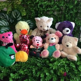 Set 2 gồm 9 em gấu bông cho bé yêu
