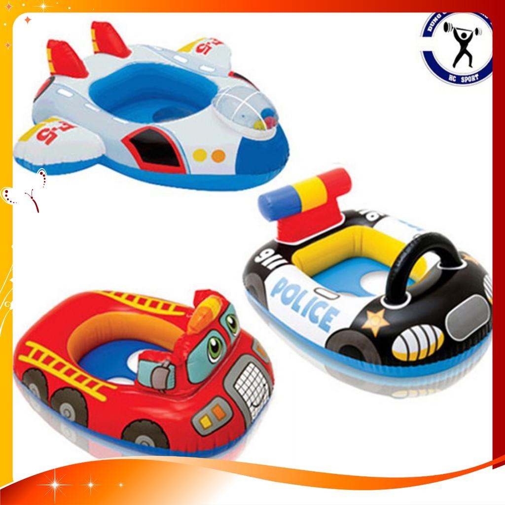 Phao bơi hình máy bay và ô tô, siêu đẹp và an toàn cho các bé