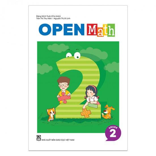 Sách Toán Tiếng Anh OpenMath Lớp 2