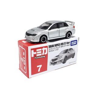 Xe mô hình Tomica Regular No.07 – Subaru Impreza WRX STI 4door