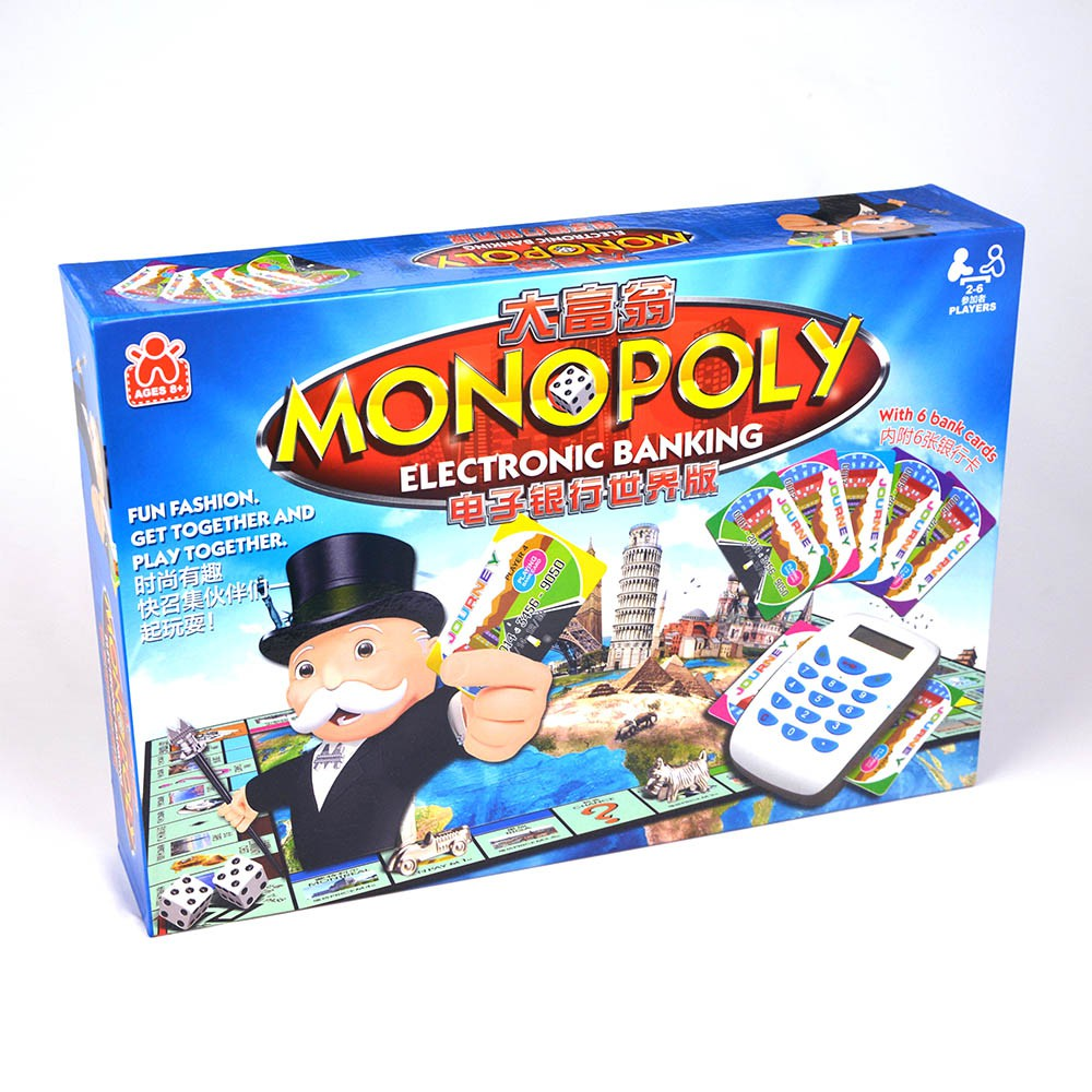 Game Cờ Tỷ Phú Monopoly: Electronic Banking
