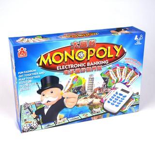 Game Cờ Tỷ Phú Monopoly: Electronic Banking